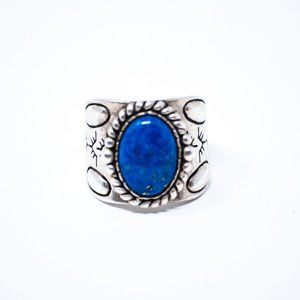 Carolyn Pollack Sterling Silver Lapis Ring